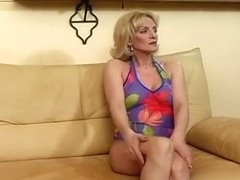 A Horny Housewife With Moist Panties