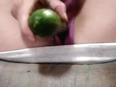 I fuck a cucumber get hubby cum on it i eat it for friend