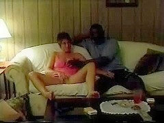 Debbie takes some other large dark jock as her spouse directs and tapes