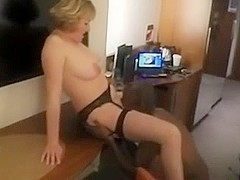 Mature Wife Fucks a Young Black Cock