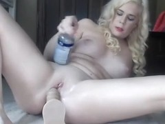 Exotic Blonde, Straight sex video