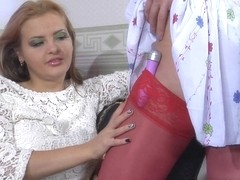 LadiesKissLadies Video: Jenny F and Aubrey
