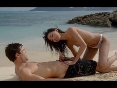 gracefully hot lovers sex on the beach