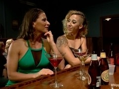 Out of Town Girl Tricked and Tortured by Pantyhose Tribbing Lesbians