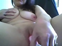 mature UK Milf with rabbit