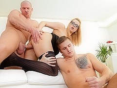 Nikki Dream, Martin Hyhlik in Bi-Sexual Cuckold #08, Scene #02