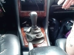 Car fuck Gear Shifter Volvo V70 Fick woman NEU