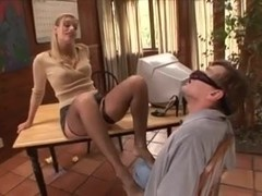 Therapist helps with foot fetish