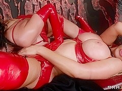Dirty Masseur: Horny Hosts of Hell. Alektra Blue, Nikki Benz, Johnny Sins
