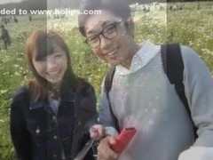 L - XIL elite of head office - kun to spill birds past her Saddle in the photo bag with Takeshi - .