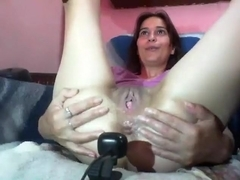 filthymilfx intimate record on 06/08/15 from chaturbate