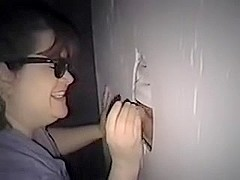 gloryhole amateur slut wife