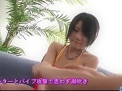 Perfect outdoor pussy play with Haruna Katou
