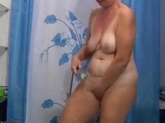 Russian Nice Granny #1 Shower