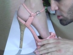 NylonFeetLine Video: Florence A and Frederic