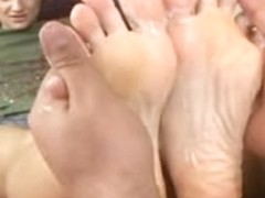 Cj sinead footjob