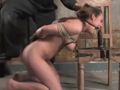 If you're a hot, sexy construction worker working in the armory, you're getting tied up.