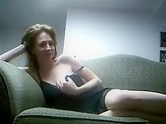 Horny wife makes an exciting home sex video