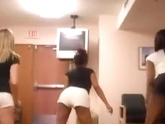 Outstanding a-hole popping livecam non-professional movie scene