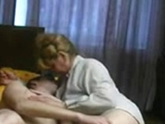 Russian Non-Professional Mother And Not Her Son