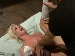 Hot Little Blonde Gets Taken Down! Rough and Kinky Sex
