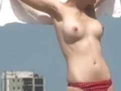 Topless Beach Blonde from Poland