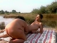 I Fucked this sexually excited Fat BBW fuckfriend outdoors-3