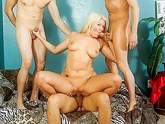 Layla Price, D-Snoop, Eric Jover, Filthy Rich in We Wanna Gangbang The Babysitter #18, Scene #01
