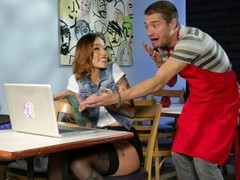 Xander Corvus & Silvia Rubi in In Spain It's OK Scene