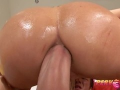 PervCity Blonde Bombshell Wife Ass Fucked