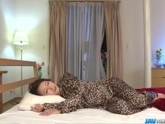 Harsh threesome with naughty Yayoi Yanagida
