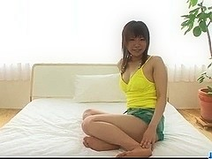 Kana Mimura tires two cocks in her wet holes