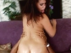 Sexy asian London Keyes vs huge black penis
