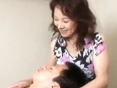 Japanese Bushy Older receives Creampied (Uncensored)