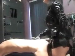 Amazing amateur Latex, Femdom adult video