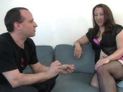 Mina Meow in Amateur Casting Couch 17: Mina The Horny Camper - HogTied