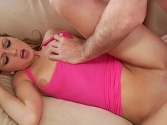 Staci Silverstone gets her shaven pussy slammed