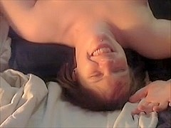 Making her cum and squirt many times