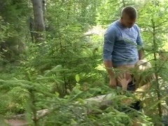 Kevin & Yana in Hitchhiker Fucked In The Woods - CasualTeenSex