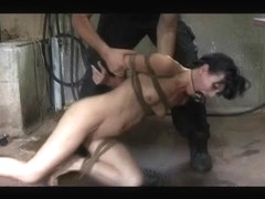 S&M Bondman Elise Graves Pervert Enema Anguish and Outdoor