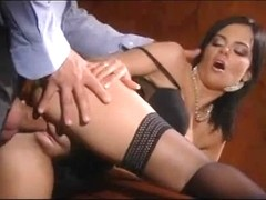 Anal fuck - nylons - 8