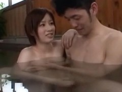 Incredible Japanese chick Saki Okuda in Hottest Shower, Handjob JAV scene