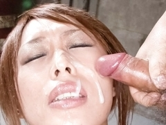 Amazing Japanese chick Rina in Hottest JAV uncensored Facial clip