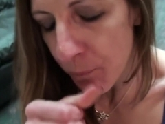 Exotic pornstar Marie Madison in horny swallow, facial sex video