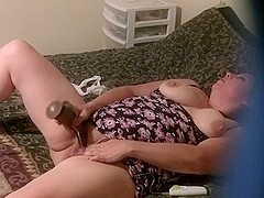Spying On wife Karma Masturbating