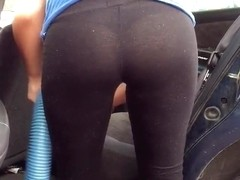 Amazing girl tights  ass!!!!!