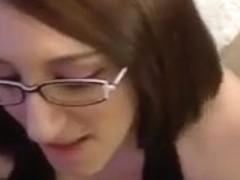 Big boobed amateur sexually excited fucks and takes a facial