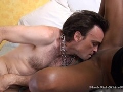BlackGirlsWhiteSlaves: Shock Equals Lick