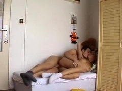 European honey receives drilled by her boyfriend.