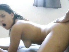 Brazilian Babe Sucks Her BF Cock And Gets Fucked In Ret
